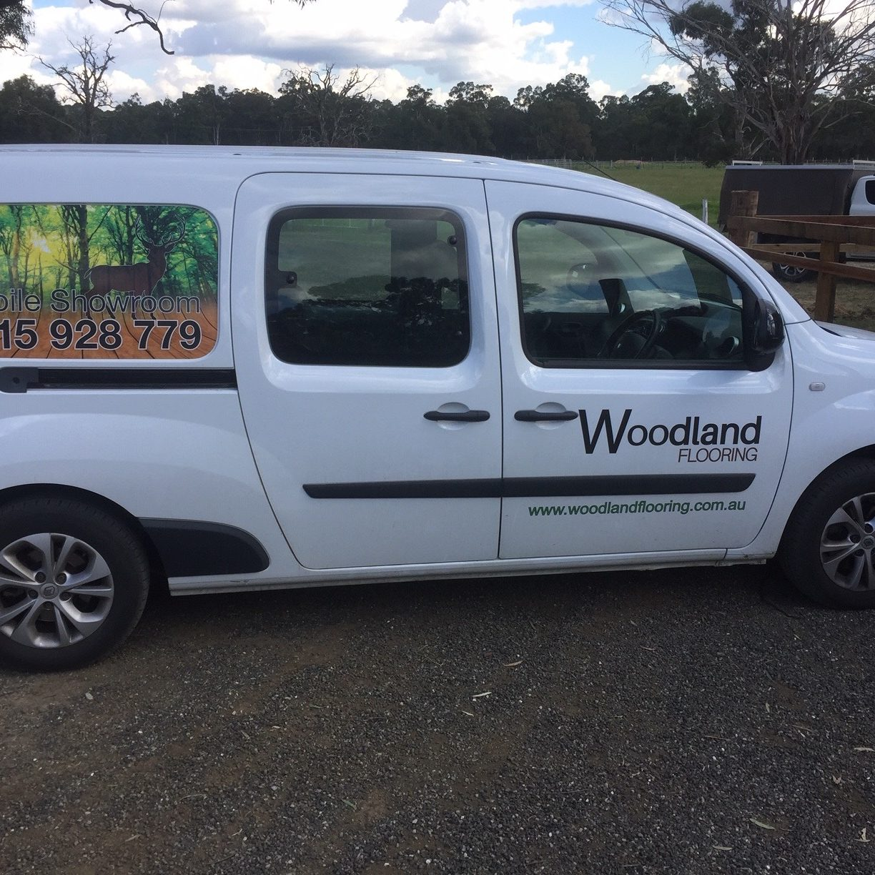 Woodland Flooring Van
